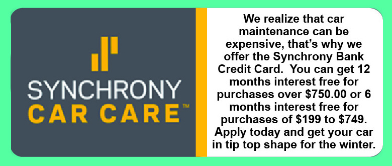 Synchrony Car Care