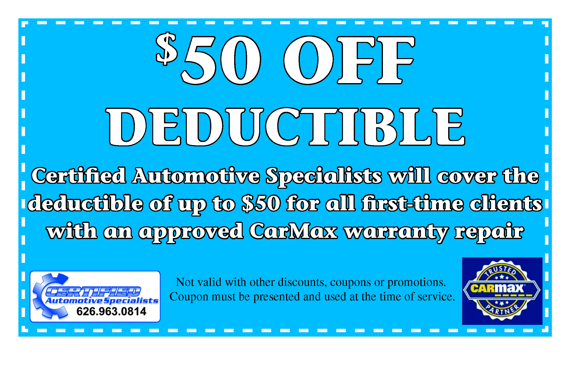 $50 Off Deductible
