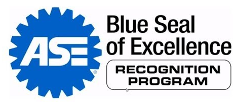 ASE Blue Seal Of Excellence Recognition Shop Status